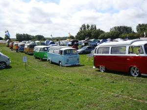 Photo - Campers lined up at last year's Beach Side Cruise