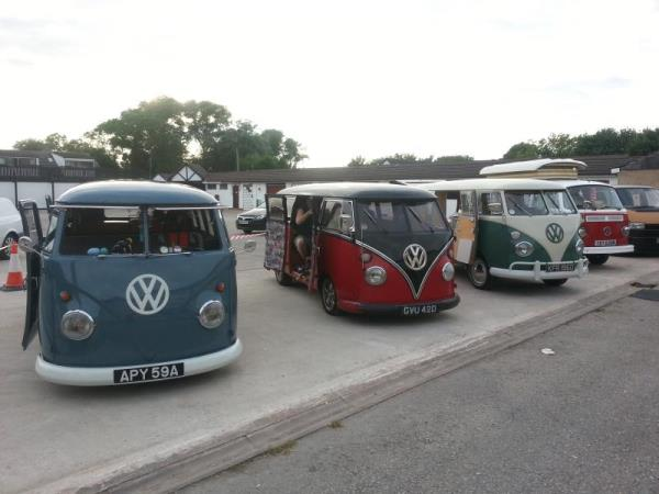 Photo - Some of the entrants in last year's show and shine event